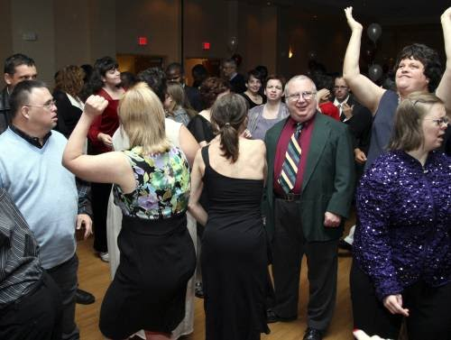 Photo of dancers at 2011 Disability Ball