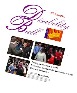 Cover of 2010 Disability Ball souvenir program