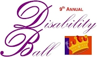 2012 Disability Ball logo